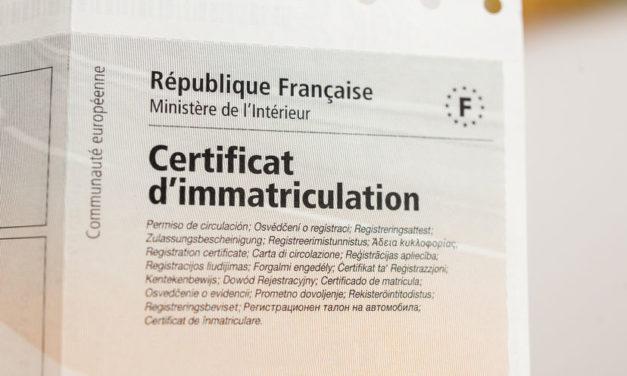 Comment changer d'adresse sur une carte grise en France