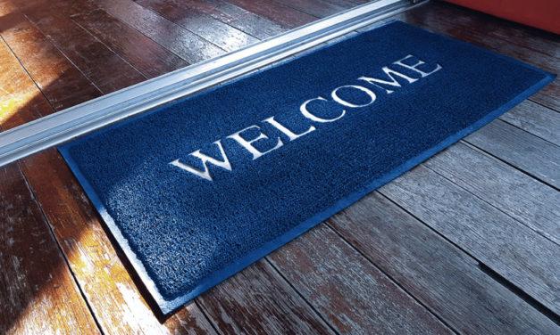 Quelles astuces pour choisir votre tapis d'entrée